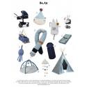 Nobodinoz Moodboard Babyausstattung Blau - Kleine Fabriek