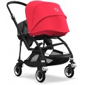 Bee 5 Bugaboo Buggy Styled by you mit Sonnendach Neonrot - Kleine Fabriek