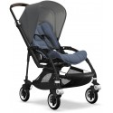 Bee 5 Bugaboo Buggy Styled by you mit Sonnendach Grau Melange - Kleine Fabriek