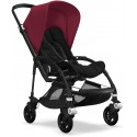 Bee 5 Bugaboo Buggy Styled by you mit Sonnendach Rubinrot - Kleine Fabriek
