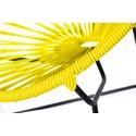 Boqa Acapulco Chair Chiquita Kinderstuhl Schwarz/Gelb Detail - Kleine Fabriek