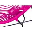 Boqa Acapulco Chair Chiquita Kinderstuhl Schwarz/Pink Detail - Kleine Fabriek