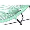 Boqa Acapulco Chair Chiquita Kinderstuhl Schwarz/Mint Detail - Kleine Fabriek