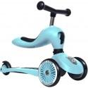 Highwaykick 1 Scoot & Ride 2in1 Laufrad Roller Blueberry - Kleine Fabriek