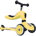 Highwaykick 1 Scoot & Ride 2in1 Laufrad Roller Lemon - Kleine Fabriek