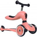Highwaykick 1 Scoot & Ride 2in1 Laufrad Roller Peach - Kleine Fabriek