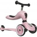 Highwaykick 1 Scoot & Ride 2in1 Laufrad Roller Rose kaufen - Kleine Fabriek