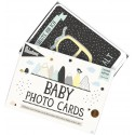 Milestone Baby Photo Cards Over the Moon - Kleine Fabriek