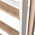 Oliver Furniture Wood Mini+ Halbhohes Hochbett Weiß/Eiche Detail - Kleine Fabriek