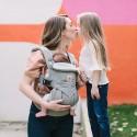 Ergobaby Babytrage Omni 360 Pearl Grey Blickrichtung zum Tragenden - Kleine Fabriek