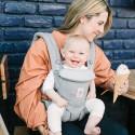 Ergobaby Babytrage Omni 360 Pearl Grey Blickrichtung nach vorne - Kleine Fabriek