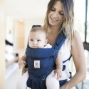 Ergobaby Babytrage Omni 360 Midnight Blue Blickrichtung nach vorne - Kleine Fabriek