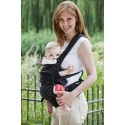 Ruckeli Babytrage Bauchtrageweise