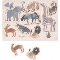 Ferm Living Steck-Puzzle Safari - Kleine Fabriek