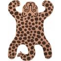 Ferm Living Safari Teppich Leopard - Kleine Fabriek