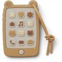 Liewood Silikon Baby Smartphone in Gelb kaufen - Kleine Fabriek
