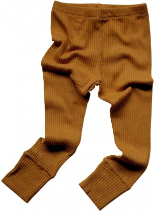 The Simple Folk Baby-Leggings Ribbed Bronze