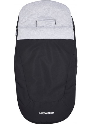Easywalker Charley/Harvey 2 Fußsack Night Black - Kleine Fabriek