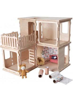 Fabelab Build Puppenhaus DIY Basis Set