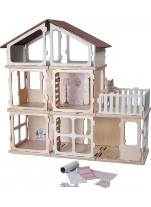 Fabelab Build Add-on DIY Erweiterungsset Villa