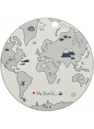 OYOY Kinder Tisch-Set The World