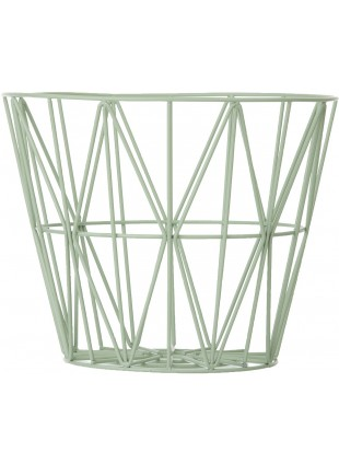 Ferm Living Wire Basket Drahtkorb Mint