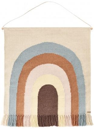 OYOY Wand-Teppich 'Follow the Rainbow'