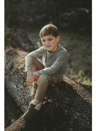 Donsje Kinder-Shirt Stevi Sage kaufen - Kleine Fabriek