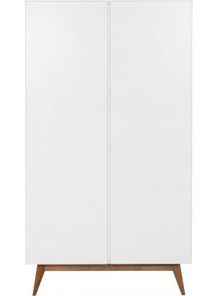 Quax 2-türiger Kleiderschrank Trendy Weiß kaufen - Kleine Fabriek