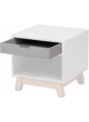 Quax Schublade Trendy Grau für Schreibtisch und Nachttisch