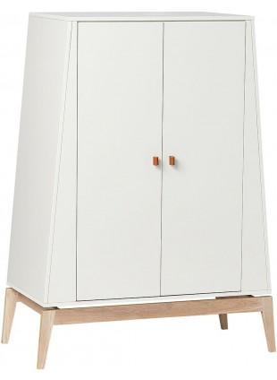 Luna Kleiderschrank S Weiß - Eiche von Leander kaufen - Kleine Fabriek