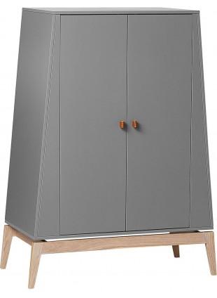 Luna Kleiderschrank S Grau - Eiche von Leander kaufen - Kleine Fabriek
