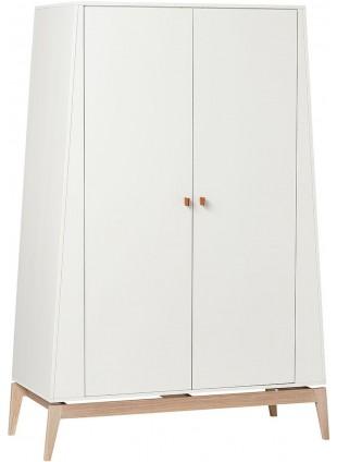Luna Kleiderschrank L Weiß - Eiche von Leander kaufen - Kleine Fabriek