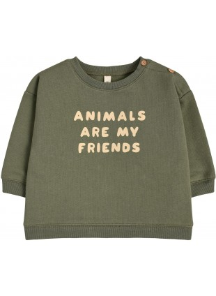 Organic Zoo Baby-Shirt Animals Are My Friends kaufen - Kleine Fabriek