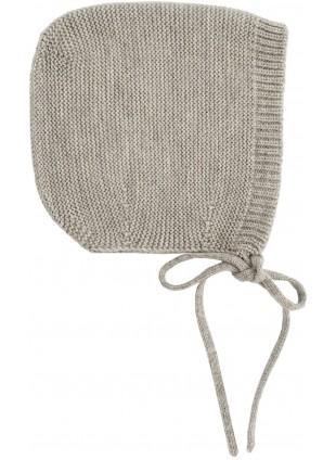 Strick-Babymütze Grey Melange von hvid kaufen - Kleine Fabriek