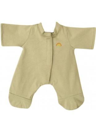 Olli Ella Dinkum Puppen-Pyjama in Hellgrün kaufen - Kleine Fabriek