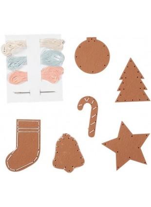 Fabelab Minimakers DIY Bastel-Set Gingerbread Cookies - Kleine Fabriek