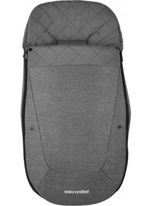 Easywalker Fußsack Premium Diamond Grey kaufen - Kleine Fabriek