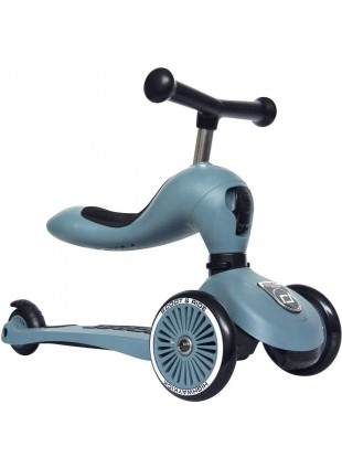 Scoot & Ride 2in1 Laufrad Roller Highwaykick 1 Steel