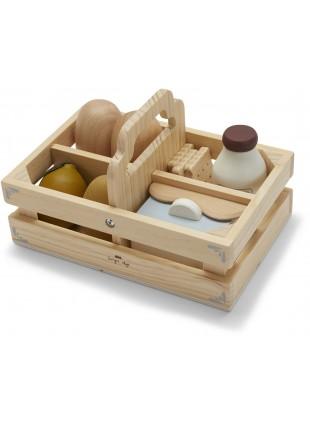 Konges Sløjd Holz-Lebensmittel Food Box
