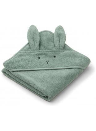 Liewood Baby Kapuzenbadetuch Hase Peppermint kaufen - Kleine Fabriek