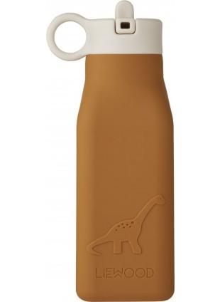 Liewood Silikon Trinkflasche Warren Mustard