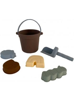 OYOY Silikon Sandspielzeug-Set Leo kaufen - Kleine Fabriek