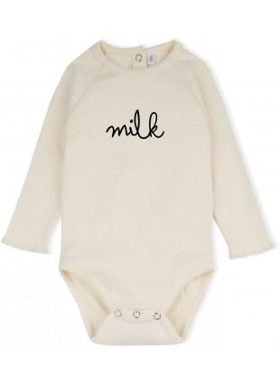 Natural Milk Baby-Body von Organic Zoo kaufen - Kleine Fabriek