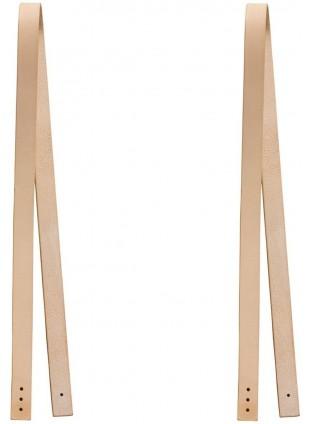 Oliver Furniture Lederriemen für Sitzkissen Wood 2 Stück