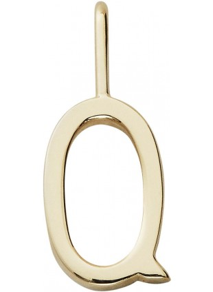 Design Letters Archetypes Buchstabenanhänger klein Q Gold - Kleine Fabriek