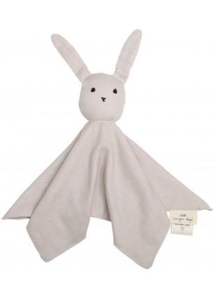 Konges Sløjd Schmusetuch Sleepy Rabbit Nimbus Cloud - Kleine Fabriek