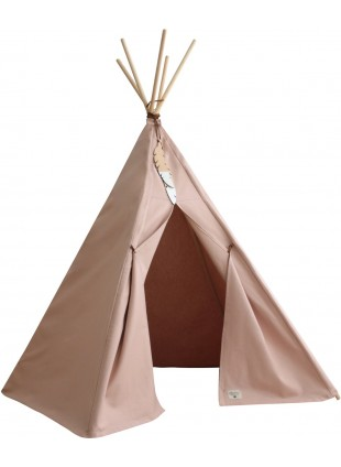 Nobodinoz Pure Line Tipi Spiel-Zelt Nevada Bloom Pink