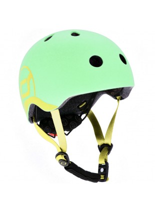 Scoot & Ride Kinder-Fahrradhelm XXS-S Kiwi