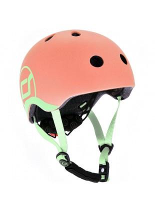 Scoot & Ride Kinder-Fahrradhelm XXS-S Peach
